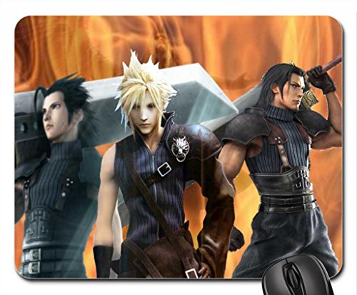 FF7 Angeal,Zack,Cloud and Sephiroth Mouse Pad, Mousepad (10.2 x 8.3 x 0.12 inches)