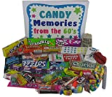 '60s Nostalgic Retro Candy Memories Gift Box From the 1960s