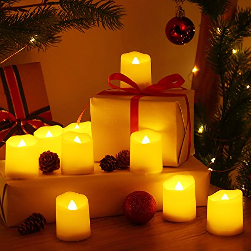 Oria Flameless Candles Led Candle Light Set Battery