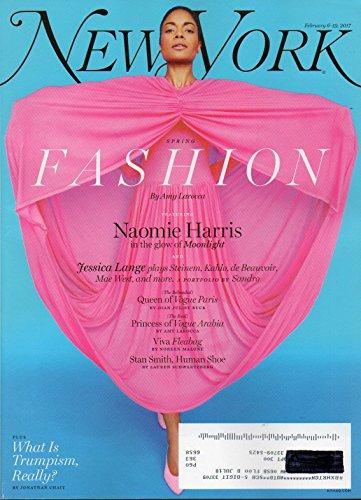New York Magazine FASHION 2017 JESSICA LANGE PLAYS MAE WEST & GLORIA STEINEM Queen of Vogue Paris STAN SMITH WAS NO SERENA WILLIAMS, BUT HE SCORED BIG IN FOOTWEAR