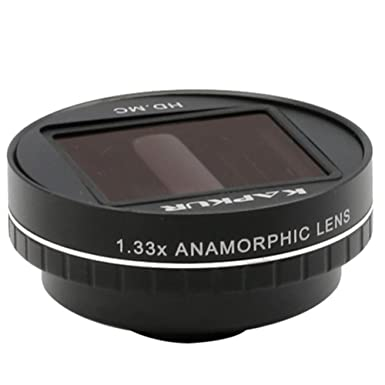 best service 2c5c5 11f80 Kapkur Anamorphic Lens 2.0 HD 4K 1.33X for iPhone Huawei Shot by ...