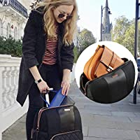 Lightweight Including Laptop and MacBook Slot Cabin Max/® Travel Hack Pro Rose Gold Cabin Bags 55 x 40 x 20 cm with an Integrated Compartment for Handbags Perfect Cabin Suitcases with Wheels