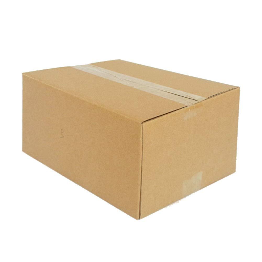 KKCF-HE Cajas De Cartón Tablero Duro Caja Corrugada 3 Capas Paquete Paquete Capas Plano Multifunción Suministros De Correo 9 Tamaños 10 O 20 por Paquete 416238