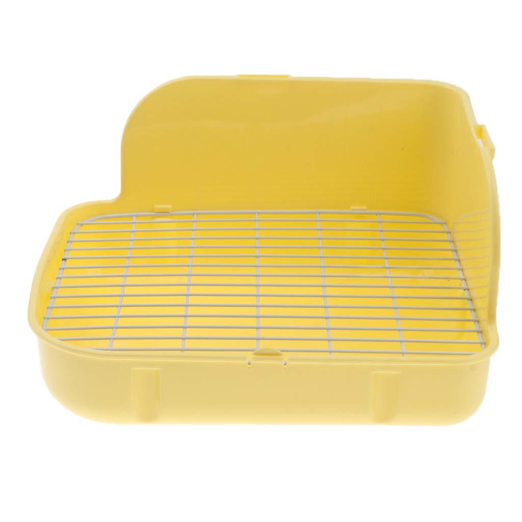 Rabbit Cage Birth Box Plastic Built-in Rabbit Litter Box Cage Anti Bitten