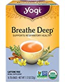 Yogi Tea, Breathe Deep, 16 Count (Pack of 6), Packaging May Vary