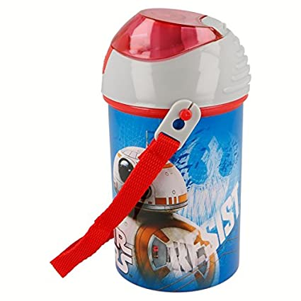 Botella Robot Pop UP 450 ML. Star Wars EPVIII