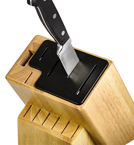 farberware self sharpening 13 piece knife block set with import it all. Black Bedroom Furniture Sets. Home Design Ideas
