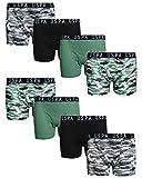 U.S. Polo Assn. Boy\'s (8-Pack) Boxer Brief Underwear (Digital Camo, 10)'