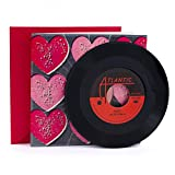 Hallmark 1299VCG1003 Valentine's Day Card with Vinyl Record (Real Aretha Franklin 45 Record and 2 songs)