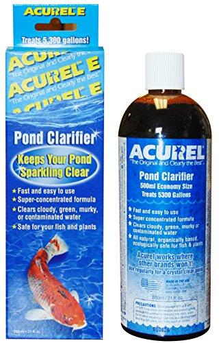 Acurel E500 Millimeter Pond Clarifier, Treats 5, 300 (300 Gallon Pond)