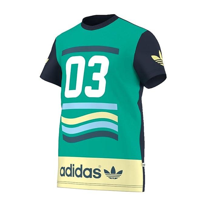 adidas Camiseta Vintage 03 Tee Verde L Verde: Amazon.es: Ropa y accesorios