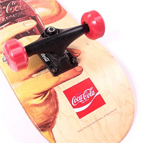 Skateboard - Cara (P55) Coca-Cola