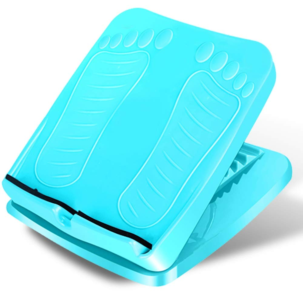 Reinforcement Plate Oblique Pedal Folding Bar Stool Home Fitness Skinny Leg Artifact 抻 板 Plate Pull Through The Leg Stretcher (Color : B)