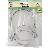 Loew-Cornell Transform Mason Wire Handles 3/Pkg, Silver