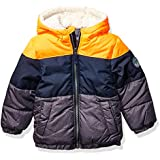 OshKosh B'Gosh Boys' Big Heavyweight Winter Jacket with Sherpa Lining