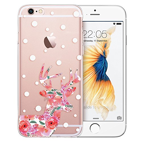 iPhone 6s Plus Case, iPhone 6 Plus Case, ESR Soft Gel TPU Silicone Case Clear with Design Cute Cartoon Slim Fit Ultra Thin Protective Cover for 5.5
