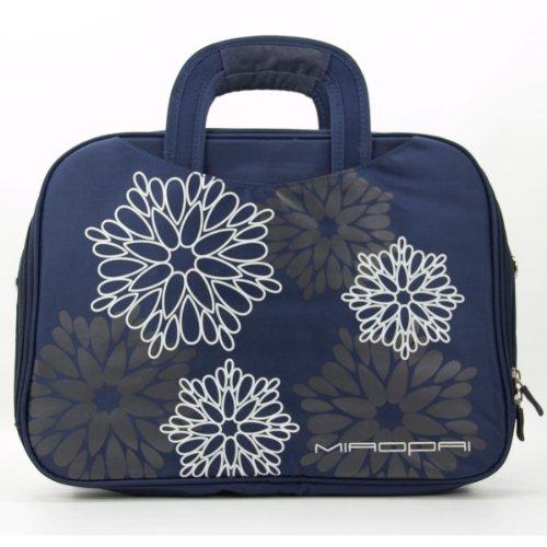 Fujitsu LIFEBOOK E546 , E746 Floral Print Laptop Messenger Shoulder Bag Briefcase
