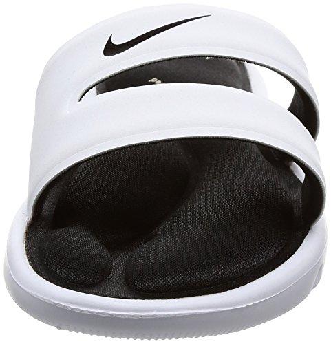 Nike Dames Ultra Comfort Slide Sandaal Wit / Zwart
