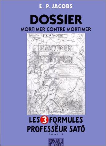 Blake et Mortimer, tome 2 : Les 3 formules du professeur Sato (crayonnés) Edgar Pierre Jacobs