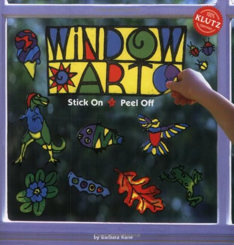 Klutz Book: Window Art Kit - Klutz Window Art