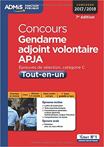 Amazon Fr Concours Gendarme Adjoint Volontaire Apja
