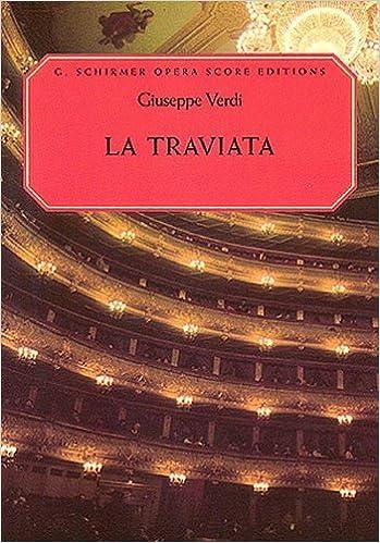 Book By Giuseppe Verdi - La Traviata: Vocal Score, in Italian and English: (Sheet Music)