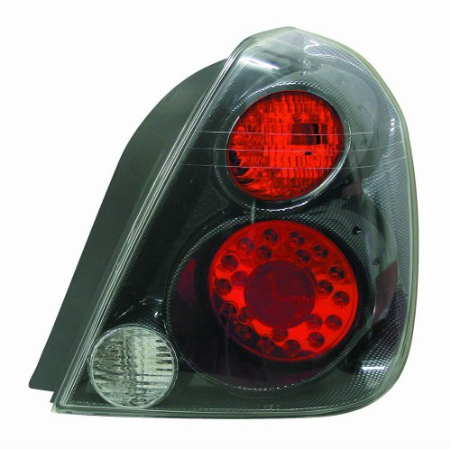 Fiber Depo Carbon (Depo 315-1938PXAS3R Nissan Altima Carbon Fiber LED Tail Light)