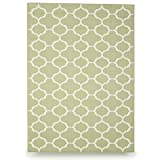 Budge Winchester Outdoor Patio Rug, RUG057SG3 (5' Long x 7' Wide, Sage Green)