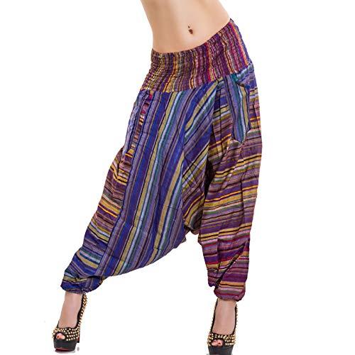 Fantasia pantaloni harem IND Toocool 303 donna 10 sarouel turca Overall BUx8qw8Zf