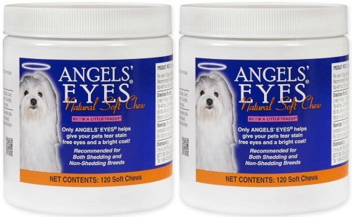 Angels' Eyes Natural Soft Chew Chicken Flavor 240ct Dog (2 x 120ct)