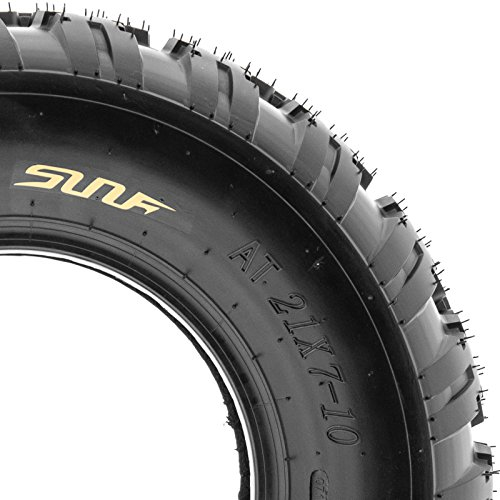 SunF Knobby Sport ATV Tires 21x7-10 & 20x11-9 4/6 PR A031 (Complete set of 4) by SunF (Image #5)