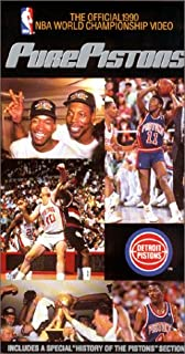 new style 7ee80 5a077 Detroit Pistons  Pure Pistons 1990 NBA Championship VHS