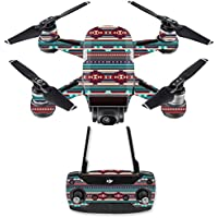 Skin for DJI Spark Mini Drone Combo - Southwest Stripes  MightySkins Protective, Durable, and Unique Vinyl Decal wrap cover   Easy To Apply, Remove, and Change Styles   Made in the USA