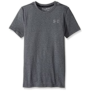 Under Armour Boys' Threadborne T-Shirt,Ultra Blue /Graphite, Youth X-Small