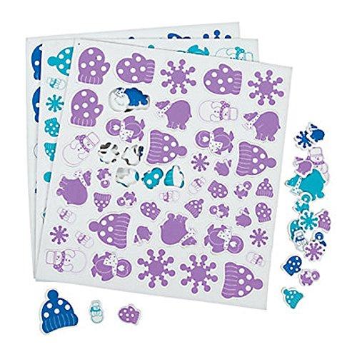 (100 ~ Winter Wonderland Foam Stickers ~ 1