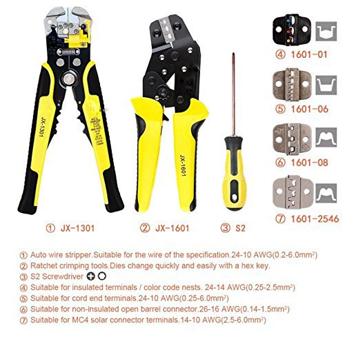 Multifunctional Wire Crimpers Wire Stripper Crimpers Set