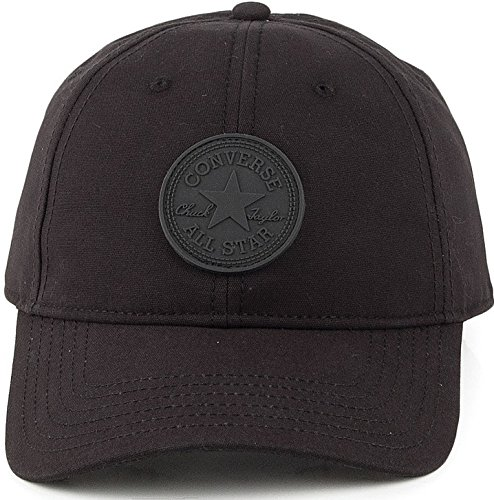 87c8e18f500d0 Converse Men's Core Monochrome Canvas Baseball Cap One Size Black at ...