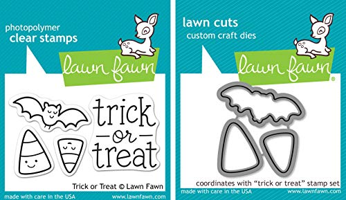 Lawn Fawn Trick Or Treat Clear Stamp and