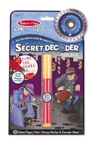 Melissa & Doug 15248 Secret Decoder Book - Secret Message Decoder