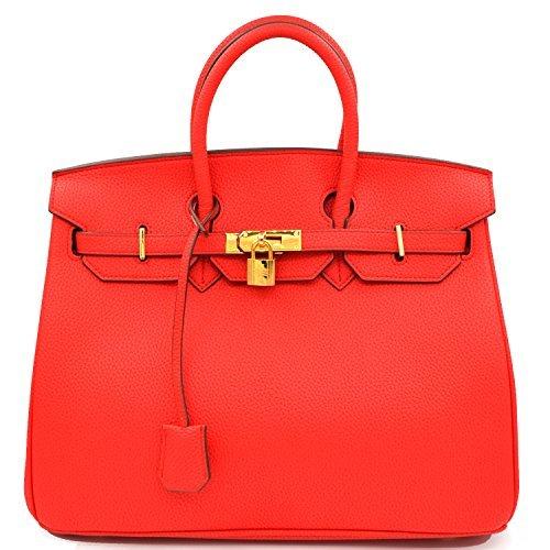 Designer Inspired Fashion Satchel Handbag With (Inspired Tote Handbag)