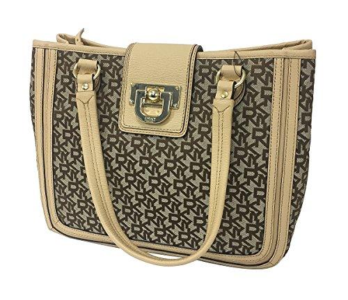 DKNY Heritage TC w/ Vintage Handbag, Chino/Nude