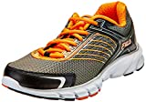 Fila Men's Maranello 2 Dark Silver, Black and Vibrant Orange Running Shoes - 10 UK/India (44 EU)