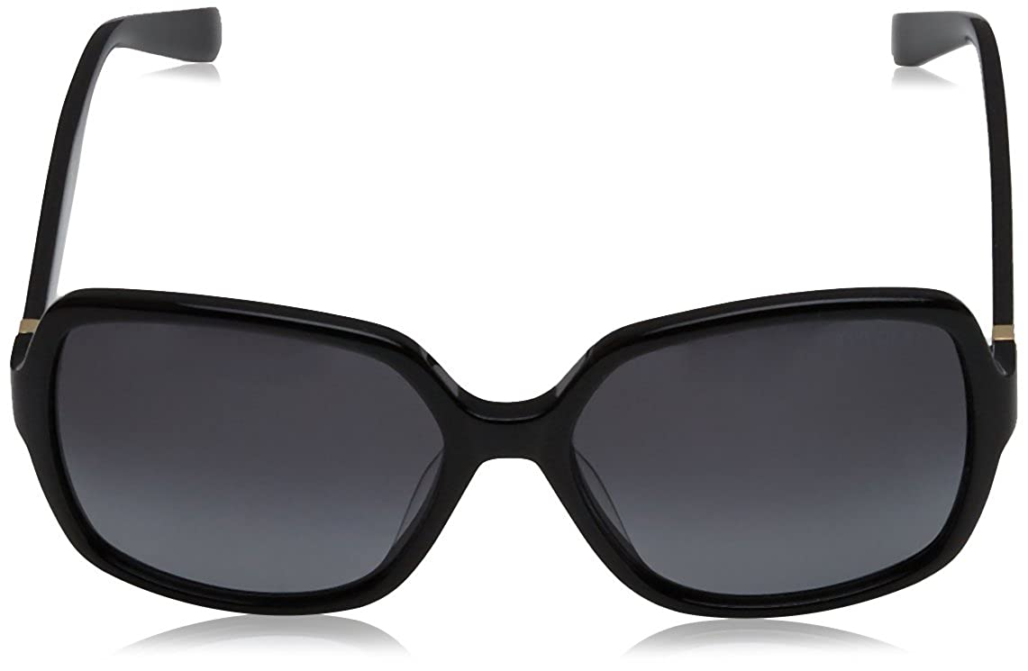 Gray Gradient Jimmy Choo Patty Sunglasses Black
