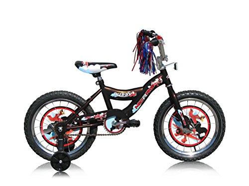 Micargi Kid's Cruiser Bike, Black, 16-Inch