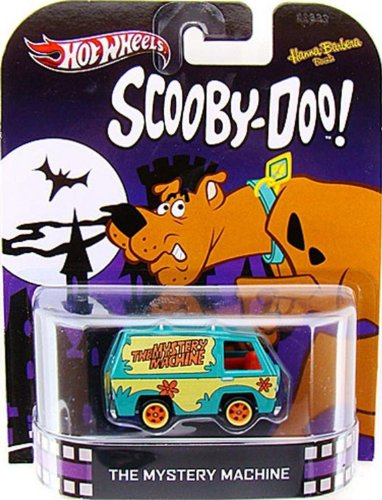 Toy / Game The Mystery Machine SCOOBY-DOO 2013 RETRO Hot Wheels 1:64 Scale Die Cast - Cool Stuff for Kids