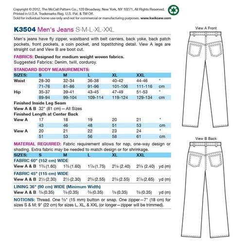 Cartamodelli per abiti da pattinaggio Bambina istruzioni in inglese Kwik Sew