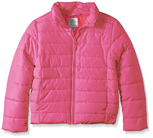 Neon The Girls' Solid Children's Berry Puffer Big Place n8Ax8