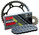 RK Racing Chain 4107-042S Steel Rear Sprocket and 520GXW Chain 520 Steel Conversion Kit