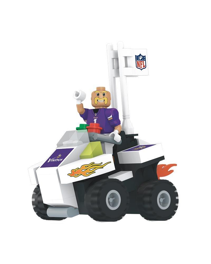 Minnesota Vikings NFL 4 Wheel ATV with Mascot OYO Mini Figure OYOFATVMV17