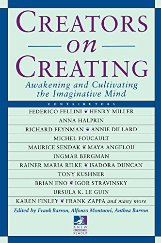 Creators on Creating: Awakening and Cultivating the Imaginative Mind (New Consciousness Reader) by Brand: Tarcher